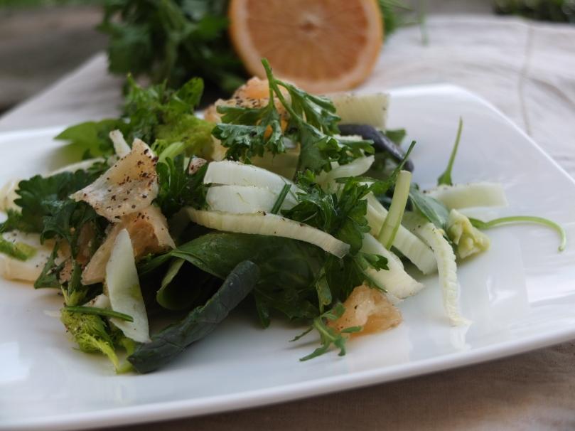 AKA get in my body salad!