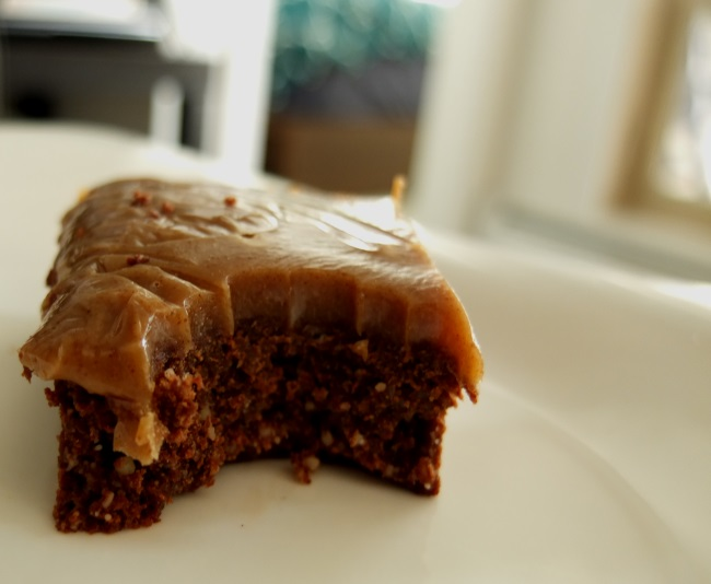 caramel salted brownie